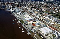 South Bank during World Expo 88