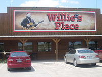 In 2008, Nelson reopened the truck stop Willie's Place near Hillsboro, Texas