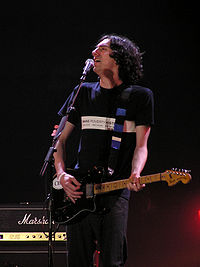 Gary Lightbody and his band Snow Patrol had the best selling album of 2006 with Eyes Open. The album spent a total of 35 weeks inside the UK top 10, and had three non-consecutive weeks at number-one.