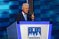 Clinton speaking at the 2016 Democratic National Convention