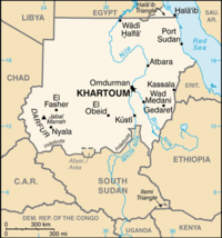 List of airports in Sudan