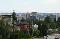 City of North Vancouver as seen from Upper Lonsdale