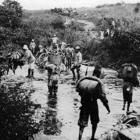 Belgian Congolese Force Publique troops in German East Africa, 1916