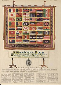 Marshal Foch's Victory-Harmony Banner