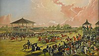 Horse race meeting at Jacksonville, Alabama, 1841