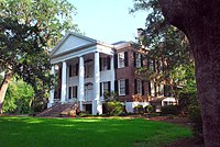 Grove Plantation in Tallahassee, Florida. Known officially as the Call/Collins House at the Grove. Built circa 1840.