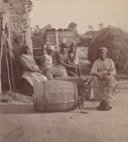 An African American family, photo-graphed by O'Pierre Havens, circa 1868.