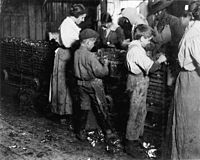 Child laborers in Bluffton, South Carolina, 1913