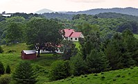 The highlands of Grayson County in Southwest Virginia