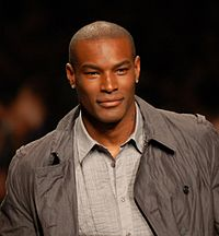 "Tyson Beckford, chosen by music cable network Vh1 as ""Man of the Year"" in 1995."