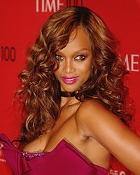 Tyra Banks, chosen by Time in 2008 as one of the world's 100 most influential people.