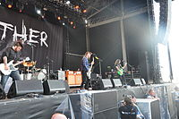 Seether performing at Rock am Ring 2014