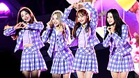 Loona yyxy at the 2018 Incheon Airport Sky Festival