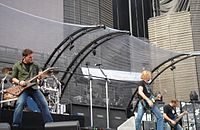 Nickelback in May 2006