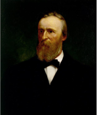 Portrait of Rutherford B. Hayes by Eliphalet Frazer Andrews, 1881