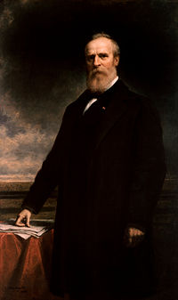 White House portrait of Rutherford B. Hayes