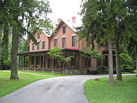 Hayes's home, Spiegel Grove, in Fremont, Ohio