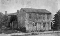 Hayes's childhood home in Delaware, Ohio