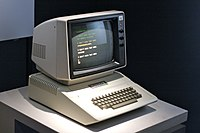 The Apple II Plus, introduced in 1979, designed primarily by Wozniak