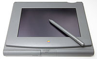 The PenLite is Apple's first prototype of a tablet computer. Created in 1992, the project was designed to bring the Mac OS to a tablet – but was canceled in favor of the Newton.