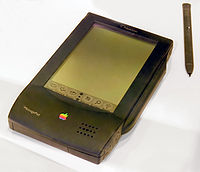 The Newton is Apple's first PDA brought to market, as well as one of the first in the industry. Though failing financially at the time of its release, it helped pave the way for the PalmPilot and Apple's own iPhone and iPad in the future.