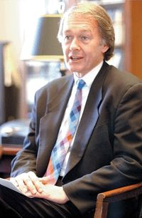 Markey as ranking member of the House Natural Resources Committee
