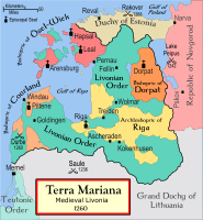 Medieval Estonia and Livonia after the crusade