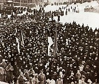 Declaration of Independence in Pärnu on 23 February 1918. One of the first images of the Republic.