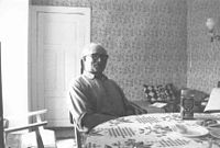 Oskar Friberg is the last male Estonian Swede on the island of Vormsi who outlived the Soviet Occupation