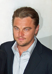 DiCaprio at the red carpet at the 2007 Tribeca Film Festival