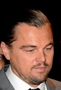 DiCaprio at the 2016 premiere of The Revenant
