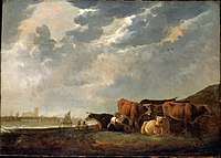 Moody likened his vision of the nascent Colony of British Columbia to the pastoral scenes painted by Aelbert Cuyp