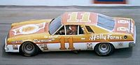 Number 11 car driven by Cale Yarborough in 1976