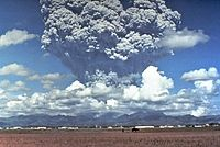 The 1991 eruption of Mount Pinatubo was the second largest volcanic eruption of the 20th century.