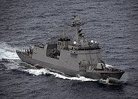 BRP Jose Rizal (FF-150) is the lead ship of her class of guided missile frigates of the Philippine Navy