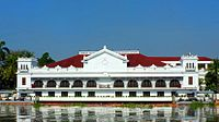 Malacañang Palace is the official residence of the President of the Philippines.
