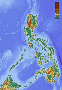 Topography of the Philippines