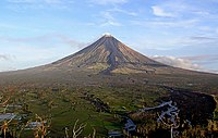 Mayon is the Philippines' most active volcano, located in southern Luzon
