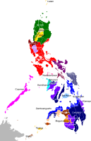 Dominant ethnic groups by province
