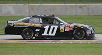 Jeff Green's No. 10 TriStar Toyota in 2014.