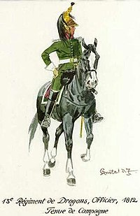 A dragoon of the Imperial Russian Army