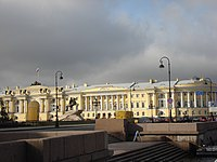 The Senate and Synod headquarters – today the Constitutional Court of the Russian Federation on Senate Square in Saint Petersburg