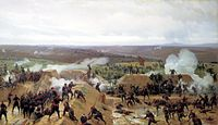 Capturing of the Ottoman Turkish redoubt during the Siege of Plevna (1877)