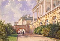 The Catherine Palace, located at Tsarskoe Selo, was the summer residence of the imperial family. It is named after Empress Catherine I, who reigned from 1725 to 1727.