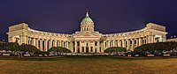 The Kazan Cathedral in Saint Petersburg was constructed between 1801 and 1811, and prior to the construction of Saint Isaac's Cathedral was the main Orthodox Church in Imperial Russia.
