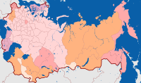 Subdivisions of the Russian Empire in 1914