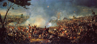 The Battle of Waterloo ended in the defeat of Napoleon and marked the beginning of Pax Britannica.