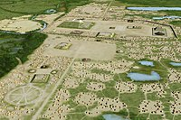 Cahokia, the largest Mississippian culture site