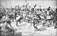 The Ghost Dance ritual, which the Lakota believed would reunite the living with spirits of the dead, cause the white invaders to vanish, and bring peace, prosperity, and unity to Indian peoples throughout the region