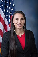 Sharice Davids became one of the first two Native American women elected to the U.S. House of Representatives.